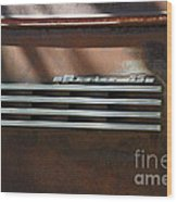 Rusty Old 1939 Chevrolet Master 85 . 5d16198 Wood Print by Wingsdomain Art and Photography