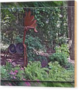 Rusty The Moose Wood Print