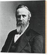 Rutherford B. Hayes, 19th American Wood Print