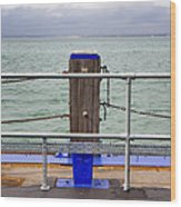 Ryde On The Solent Wharf Wood Print