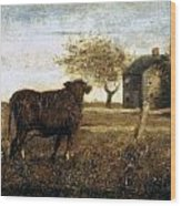 Ryder: The Pasture, C1875 Wood Print