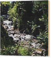 Sable Falls Grand Marais Mi Wood Print