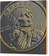 Sacagawea 2001 Wood Print