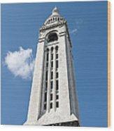 Sacre Coeur Bell Tower I Wood Print