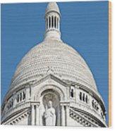 Sacre Coeur Dome Wood Print