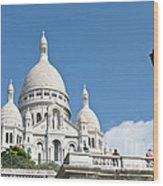 Sacre Coeur V Wood Print