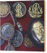 Sacred Amulets Wood Print
