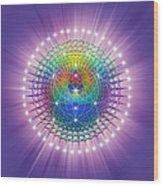 Sacred Geometry 114 Wood Print