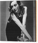 Sadie Mckee, Joan Crawford, 1934 Wood Print