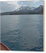 Safari Rose.on Lake Tahoe Wood Print