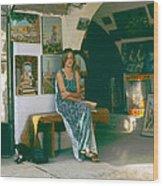 Safed Art Gallery Wood Print