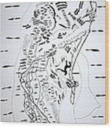 Saharawi Dance - Western Sahara Wood Print