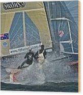 Sailing Regatta Wood Print