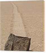 Sailing Stone Wood Print