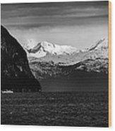 Sailing To Valdez Wood Print
