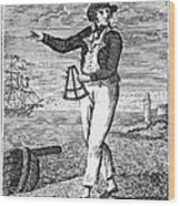 Sailor, 18th Century Wood Print