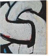 Sailor Knot 2 - Bowline Knot Detail Wood Print