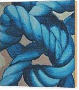 Sailor Knot 8 Wood Print