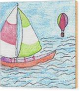 Sailor Wood Print