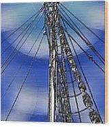 Sailors Beck And Call Wood Print