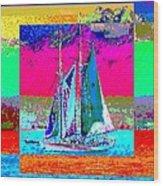 Sailors Delight 2 Wood Print