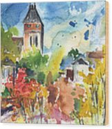 Saint Bertrand De Comminges 05 Wood Print