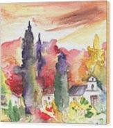 Saint Bertrand De Comminges 07 Wood Print