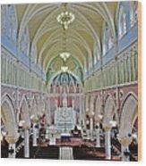 Saint Bridgets Gothic Church Wood Print