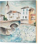 Saint Girons 02 Wood Print