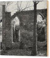 Saint Johns Chapel Eight Wood Print