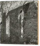 Saint Johns Chapel Five Wood Print
