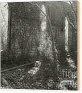 Saint Johns Chapel Six Wood Print