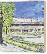 Saint Joseph Catholic High School Wood Print