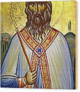 Saint Leolino Wood Print by Artur Sula