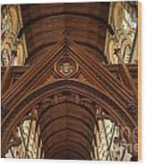 Saint Marys Church Interior 1 Wood Print