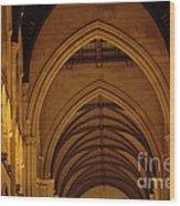 Saint Marys Church Interior 2 Wood Print