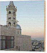 Saint Nicholas Church Beit Jala Wood Print