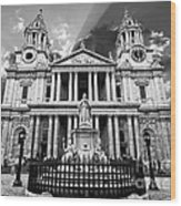 Saint Paul's Cathedral Wood Print