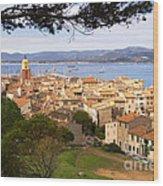 Saint Tropez 1 Wood Print
