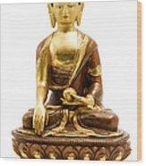Sakyamuni Buddha Wood Print