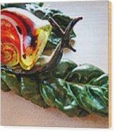 Salad Dressing Wood Print