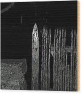 Salem Noir I Wood Print