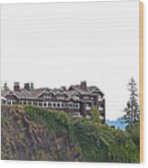 Salish Lodge And Spa Wood Print