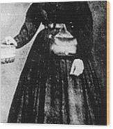 Sally Tompkins (1833-1916) Wood Print