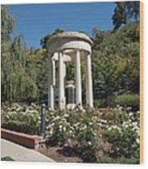 Salt Lake Great War Memorial One Wood Print
