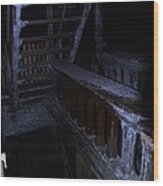 Salt Mine Entry Wood Print
