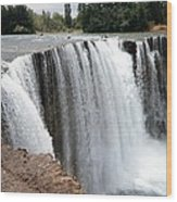 Salto Del Laja - Waterfall Wood Print