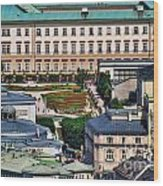 Salzburg II Austria Europe Wood Print