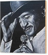 Sammy Davis Jr Wood Print