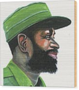 Samora Moises Machel Wood Print